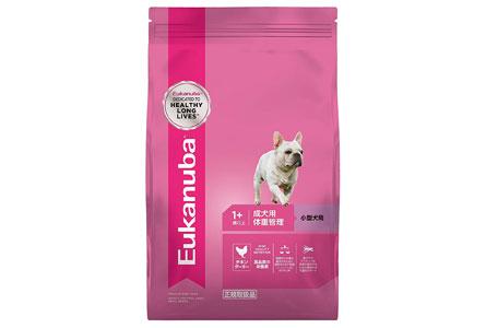 ユーカヌバ 成犬用 体重管理小型犬用1歳以上 2.7kg