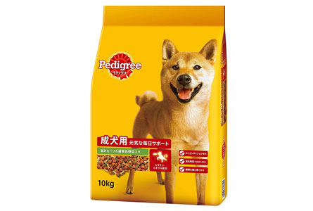 ペディグリー 成犬用 旨みビーフ&緑黄色野菜入り 10kg