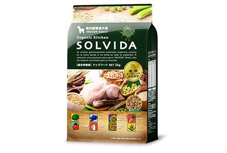 【Amazon.co.jp限定】 ソルビダ(SOLVIDA) 室内飼育成犬用(インドアアダルト) 2kg
