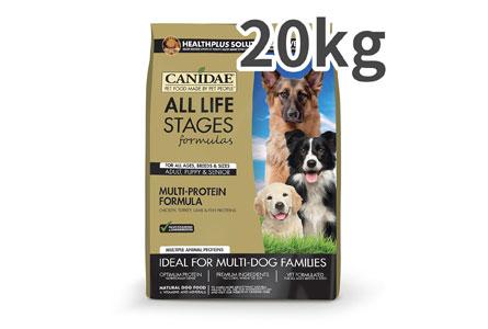 キャネディ オールライフステージ チキン&ラム&ライス 全年齢犬用 20kg