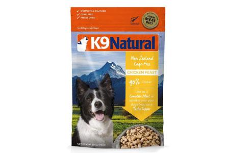 ケーナインナチュラル (K9 Natural) フリーズドライ チキン・フィースト 100g (400g分)